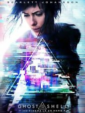 GHOST IN THE SHELL Affiche Cinéma 160x120 Movie Poster SCARLETT JOHANSSON