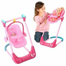 Baby Alive Swing, High Chair and Car Seat 3-in-1 Combo
