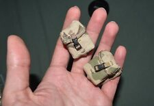 """1:6 Modern US Army Camo Gear Pouches Bag (2 Pcs) for 12"""" Action Figures C-132"""