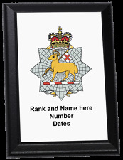 Personalised Wall Plaque - The Queen's Royal Surrey Regiment