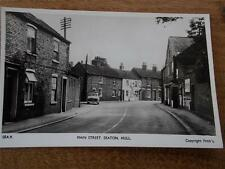 1950s SEATON Hornsea East Yorkshire Topographical Real Photo b/w Postcard 9 car