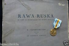 Médaille Résistance Déporté  RAWA-RUSKA  Vanderheyde  general Giraud
