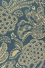 ESV Compact Bible (Cloth over Board, Blue Flora) (2016, Hardcover)