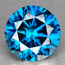 PREZZOPROMO RARISSIMO DIAMANTE 100% NATURALE CT.0,54 BLUE ROYAL COLOR IN BLISTER