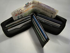 Soft Leather Zip Around Wallet With Space for 14 Credit Cards Bill Fold