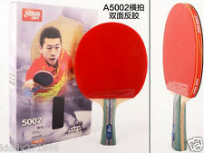 Table Tennis Rackets DHS 5002 Shake-hands Grip 5 Star Paddle Bat Long Handle US1