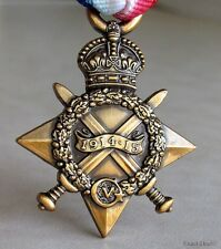 U.K British Armed Forces &  Commonwealth 1914 - 1915 Star World War 1 WWI  Medal