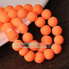 Exquisite Round Glass Loose Spacer Beads Wholesale Lot Colors 4mm 6mm 8mm 10mm