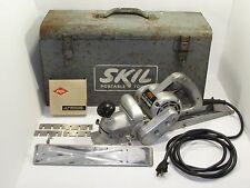 GENUINE! SKIL Portable Tools MODEL 100 PLANER 5.5 AMPS U.S.A With Case