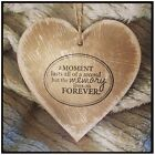 Shabby Chic Hanging Wooden Heart, Sign, East Of India Style