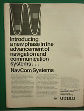 11/1978 PUB GOULD GOVERNMENT SYSTEMS NAVCOM VLF UHF ELECTRONICS US MILITARY AD