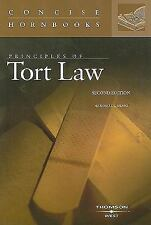Principles of Tort Law (The Concise Hornbook Series) (Nutshell)-ExLibrary