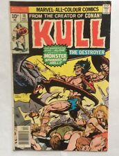 Kull Marvel Comics #18 December 1975 UK Edition