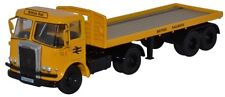 OXFORD DIECAST 76ATK003 - 1/76 ATKINSON BORDERER FLATBED TRAILER BRITISH RAIL