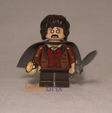 Lego Frodo Baggins (Grey Cape) from Set 9470 Shelob Attacks LOTR Hobbit lor003