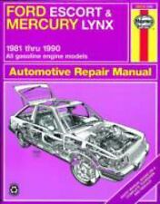 Ford Escort & Mercury Lynx, 1981 through 1990: All Gasoline Engines (Haynes Aut