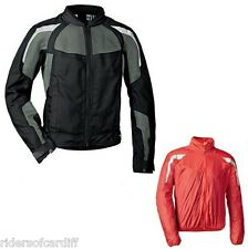 "BMW Airflow Black Vented Motorcycle Jacket Size EU 54 UK42-44"" chest 76118546903"