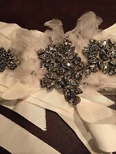 VERA WANG  SWAROVSKI SASH - WEDDING GOWN  DRESS ACCESSORIES