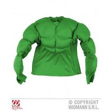 Childrens Hulk Fancy Dress Costume Comic Hero Monster Halloween Outfit 128Cm