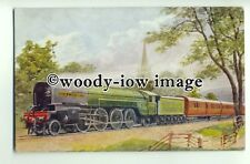 ry1236 - LNER Railway Engine - Cock O' The North - art postcard