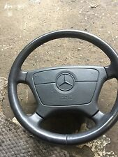 Mercedes C Class Dark Grey Leather Steering Wheel W202 1994