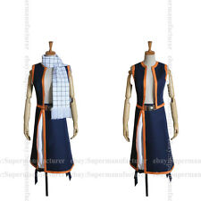 Fairy Tail Natsu Dragneel Cosplay Costume,Any Size(Note Pls)