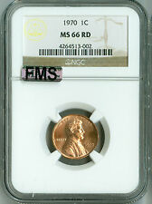 1970 Ngc Ms66 Rd Mac-Fms Full Memorial Step Lincoln Cent, 2nd Finest Registry