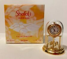 Yves Rocher SHAFALI FLEUR Eau De Toilette Splash 1.7 oz.50ml NIB+free Gift Clock