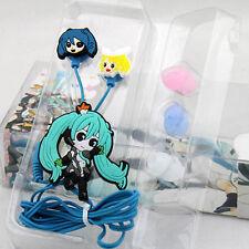 Japanese Anime Hatsune Miku Cute Earphone headset Cosplay Music Gift