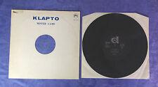 """KLAPTO (12""""MAXI) MISTER GAME [ORIG 1983 DURIUM DEX 13043 VOCODER ITALO-DISCO]"""