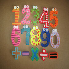Magnetic Wooden Numbers Math Set Digital Baby Educational Toy 1