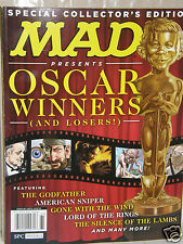 MAD  Oscar Winners  {collector's Edition}  2016 magazine new/unread/no-label