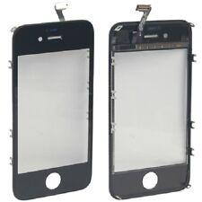 Originale VETRO Touch screen + frame iPhone 4S NERO Vetrino touchscreen cornice