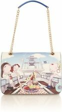Love Moschino Charming multi yacht print shoulder bag, Multi-Coloured