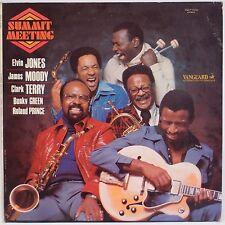 SUMMIT MEETING: Elvin Jones, Clark Terry, James Moody VANGUARD Jazz LP Rare