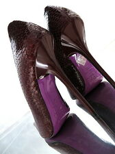 1969 unique color Leather Made in Italy Sexy Stiletto Tacco Alto Pumps z43 Pelle