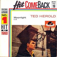 "7"" Ted Herold – Moonlight / 1 :0 / Hit come Back // Germany 1987"