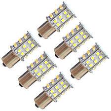 6-Pack HQRP BA15S 30-SMD LED Bulbs for 1141 Dodge Roadtrek RV Interior Light