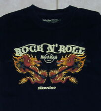 HARD ROCK CAFE Mexico T Shirt (S) Small cancun cozumel cabo wabo mens tee cruise