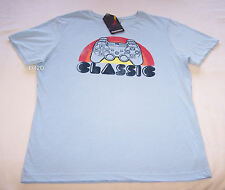 Sony Playstation Mens Blue Printed Short Sleeve T Shirt Size M New