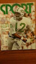 Sport Magazine July 1972 Vol 54 No 1 NY Jets Joe Namath