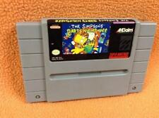 The Simpsons: Bart's Nightmare *Cart Only* Super Nintendo SNES Fast FREE Ship!
