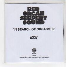 (GG41) Red Organ Serpent Sound, In Search Of Orgasmuz - 2005 DJ DVD