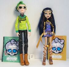 Monster High Boo York Comet-Crossed Couple Cleo de Nile and Deuce & Diary  # 5