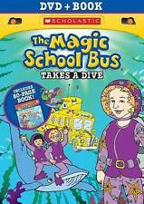 The Magic School Bus: Takes a Dive (DVD, 2014, With Book)