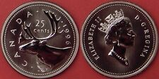 Specimen 1996 Canada 25 Cents From Mint's Set