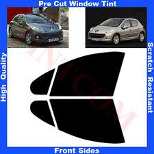 Pellicola Oscurante Vetri Auto Anteriori per Peugeot 207 5P 2007-2011 da 5% a70%