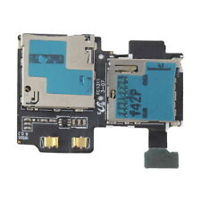 Micro SD Card Reader SIM Tray Holder Flex Cable for Samsung Galaxy S4 i9505 FT
