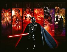 Star Wars - Anthology 34x22 Poster Darth Vader Art Print Wall Art Home Decor