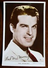 Old  Real Photo Film Star Postcard - Fred Macmurray